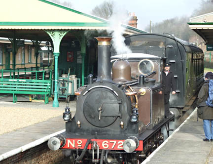 Fenchurch at Horsted Keynes - 31 Jan 2009 - Richard Salmon