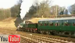 YouTube video of O1 leaving Horsted Keynes - 24 Jan 2009 - Martin Lawrence