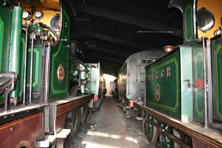 P-class 753 in the shed at SP - 30 Jan 2009 - Andrew Strongitharm