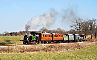 P-class 753 with mixed train - David Warwick - 21 Feb 2009