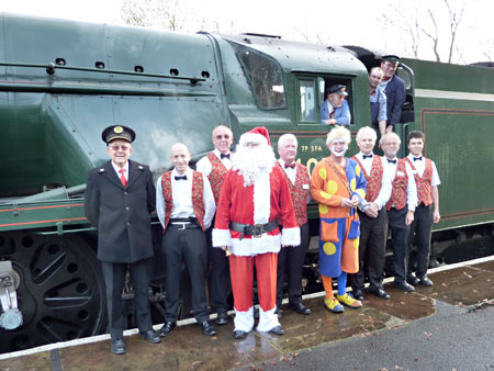Santa and his crew - 5 December 2009 - Edward Hankey