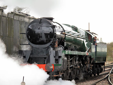 Sir Archibald Sinclair moves under steam - John Fry - 4 March 2009