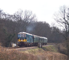 73136 with Wealden Exclusive - John Simmonds - 7 Mar 2009