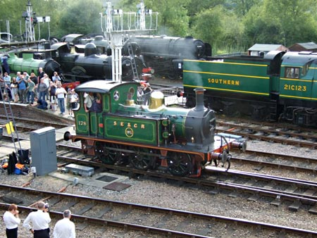 SECR P-class 178 at Horsted Keynes - Richard Salmon - 8 August 2010