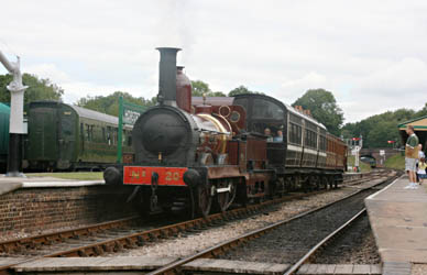 FR 20 at Horsted Keynes - Tony Sullivan - 12 August 2010