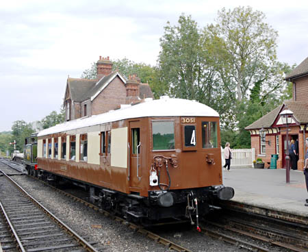 Car 88  at Sheffield Park - Laurel Arnison - 5 September 2010