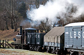 Fenchurch with the goods train - Martin Lawrence - 20 February 2010
