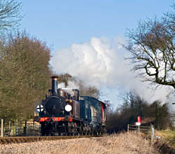 Fenchurch with the goods train - David Warwick - 20 February 2010
