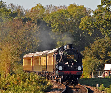 80151 with Golden Arrow - Derek Hayward - 10 October 2010