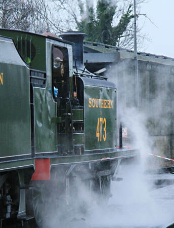 Steam Test for B473 - Dave Clarke - 30 December 2009
