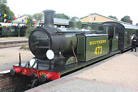 B473 at Horsted Keynes - Tony Sullivan - 29 July 2010