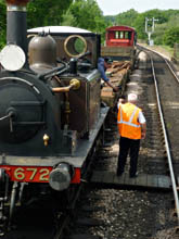 Fenchurch arrives back at Sheffield Park - Nick Talbot - 5 June 2010