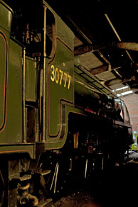 Sir Lamiel on Shed at Sheffield Park - Martin Lawrence - 3 Oct 2010