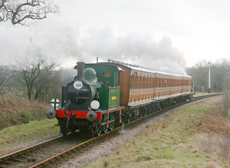 178 (running as Pioneer II) hauls its first train in preservation - 27 February 2010 - Tony Sullivan