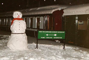 Snowman at Horsted Keynes - David Chappell - 10 January 2010