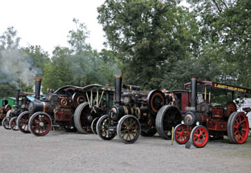 Traction Engines at Horsted Keynes - Derek Hayward - 21 August 2010