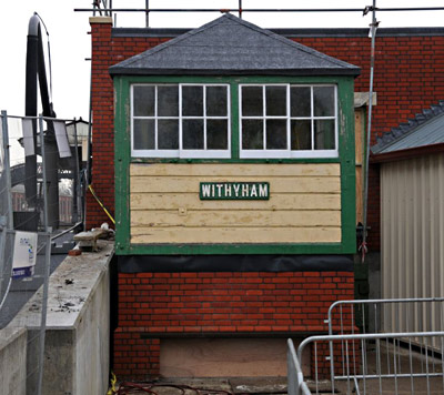 Withyham signal box at Sheffield Park - Derek Hayward - 15 December 2010