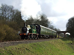 P-class 178 with Maunsell Carriages - Ashley Smith - 12 February 2011