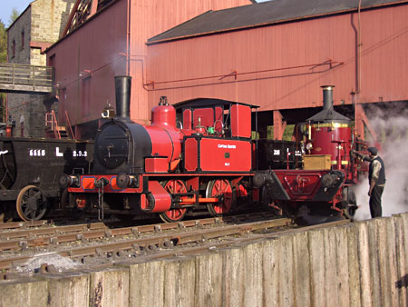 Baxter and Coffee Pot No.1 re-united at Beamish - Paul Russell - 16 April 2011