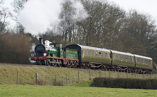 C-class approaches Horsted Keynes - Aidan Grant - 24 February 2011