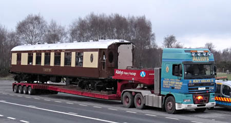 Car No.88 on the A22 at Nutley - Michael Hopps - 16 February 2011
