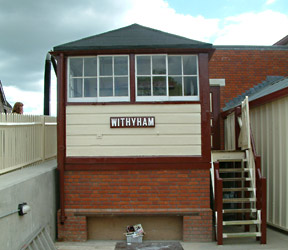 Withyham Signal Box, now at Sheffield Park - David Chappell - 14 May 2011
