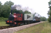 Video of Baxter with Goods Train - Martin Lawrence - 25 June 2011