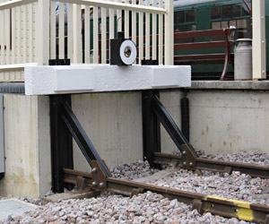 New buffer stops in Milk Dock - Mike Hopps - 9 March 2012