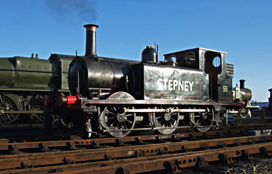 55 'Stepney' at Sheffield Park - Martin Lawrence - 11 January 2012