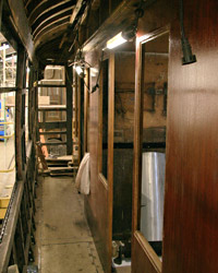 First-class corridor partition reinstated in Bulleid Composite - Dave Clarke - 2 January 2012