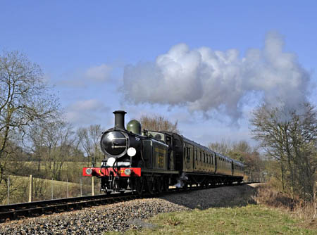 B473 at New Coombe Bridge - Derek Hayward - 10 March 2012