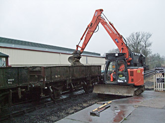 Digging out the old ballast - Martin Lawrence - 24 January 2012