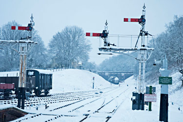 Horsted Keynes looking northwards - Martin Lawrence - 5 February 2012