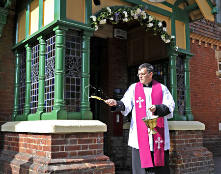 Blessing of the Porch - Derek Hayward - 25 March 2012