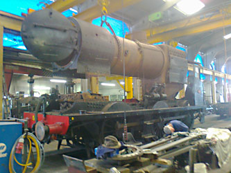 Q-class boiler lift - Ben Dingley - 12 May 2012