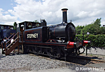 55 at Railfest - Kieran Hardy - June 2012