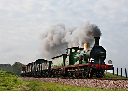 592 with photo charter - David Haggar - 14 April 2012
