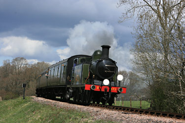B473 with the 1pm ex Kingscote near Horsted - Tony Sullivan - 10 April 2012