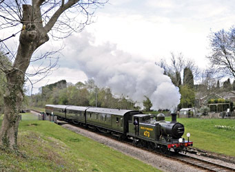 B473 at West Hoathly - Derek Hayward - 15 April 2012