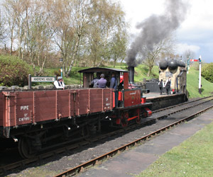 Captain Baxter at Tanfield - Paul Jarman - 21 April 2012