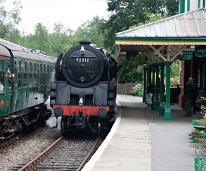 9F at Kingscote - John Sandys - 7 August 2012