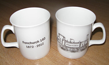 Fenchurch 140 mug