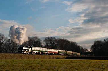 3650 with Santa Special Train - David Haggar - 8 December 2012