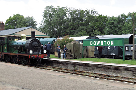 Filming for Downton Abbey - John Sandys - 17 July 2012