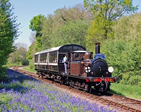 Fenchurch hauls the Bluebell Special - Derek Hayward - 1 May 2007