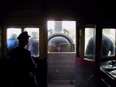Photo from brake van - Footplate Days and Ways - Chris Dadson - 25 May 2007