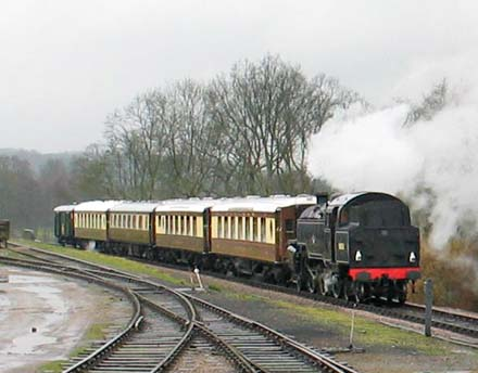 Pullman Lilian re-joins the Golden Arrow - 4 March 2007 - Dave Clarke