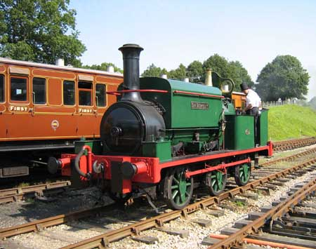 Sir Berkeley at Horsted Keynes - Ashley Smith - 11 August 2007