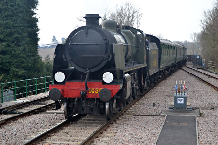 U class enters East Grinstead - Mark Hemsley - 27 March 2013