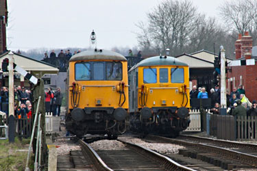 73s take over at Sheffield Park - Steve Lee - 28 March 2013